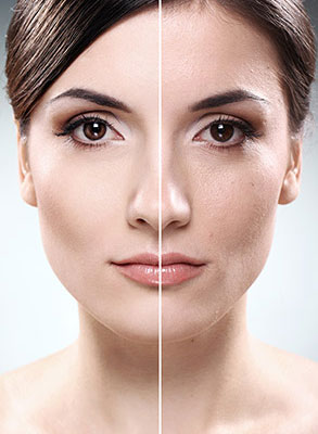 Fight off skin shading for brighter and lighter skin